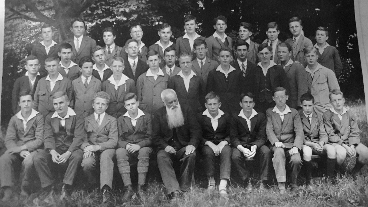 Seminarklasse Hofwyl 1928